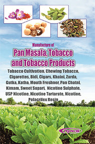 Manufacture of Pan Masala, Tobacco and Tobacco Products